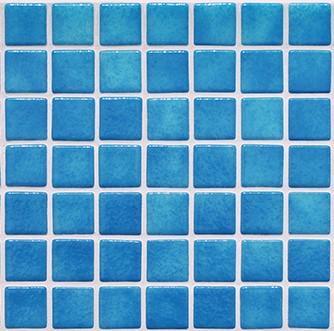 Niebla Pale Turq Blue Mosaic pool Tiles