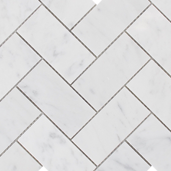 Carrara-Herringbone-Mosaic-Tiles
