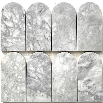 Super White Arch Mosaics