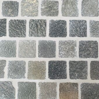 ATLANTIC GREY COBBLESTONE PAVERS
