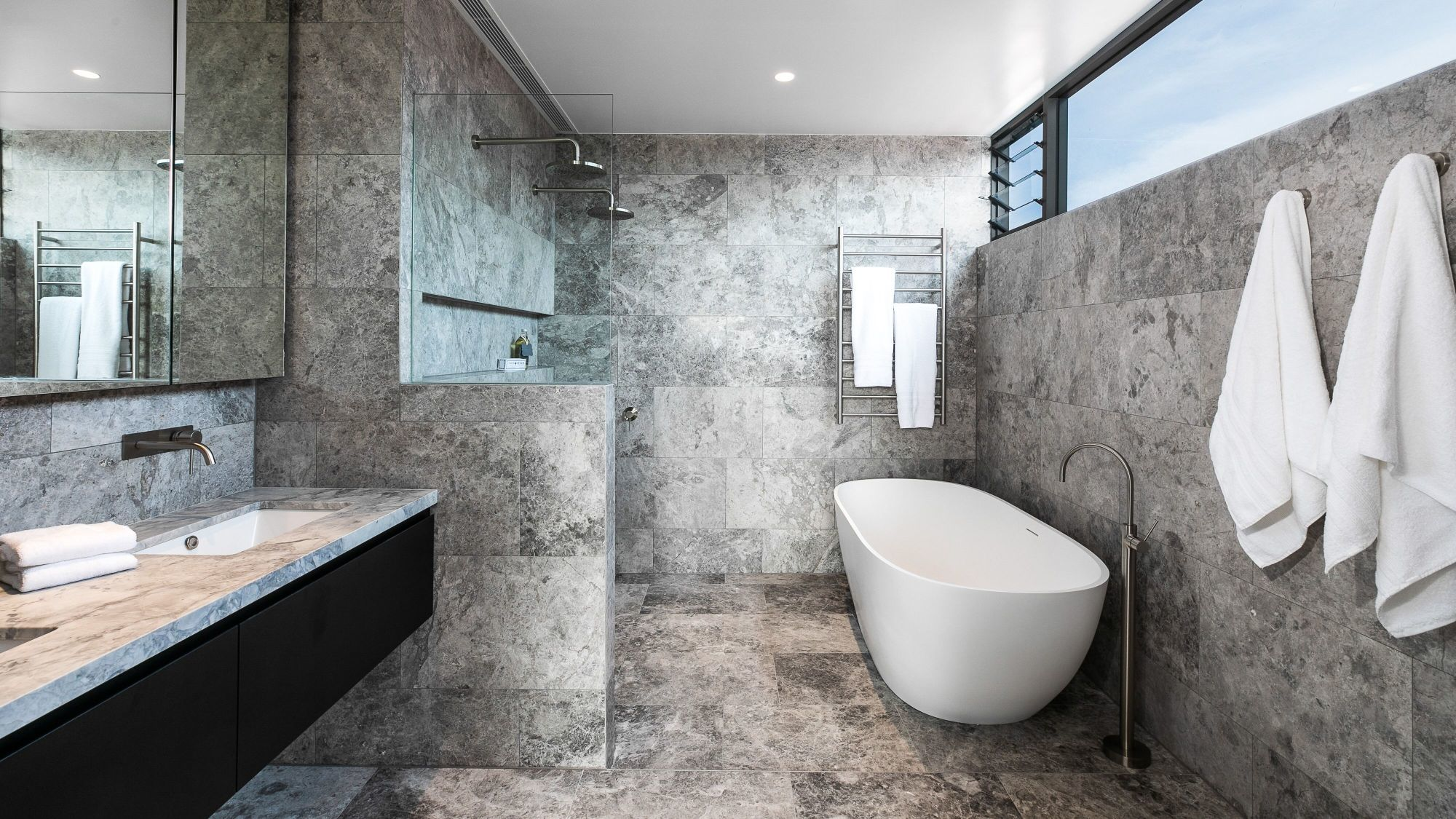 Stone feature wall tiles